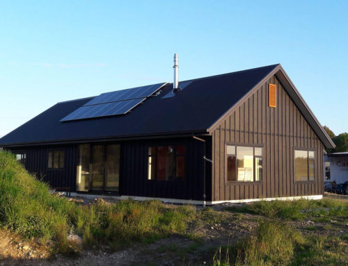 Andrew and Anthea's Solar Passive Home