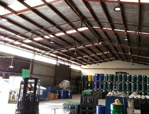 Storage/Warehouse Lighting – Eco, Power Savings, Improved Reliability
